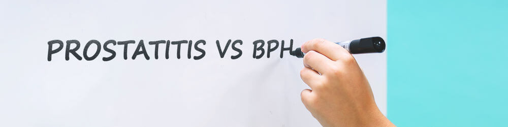 Prostatitis vs BPH (Enlarged Prostate): How to Tell the Difference