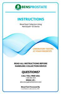 Advanced Home PSA Blood Test