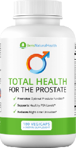 Ben's Total Health for the Prostate vegicaps
